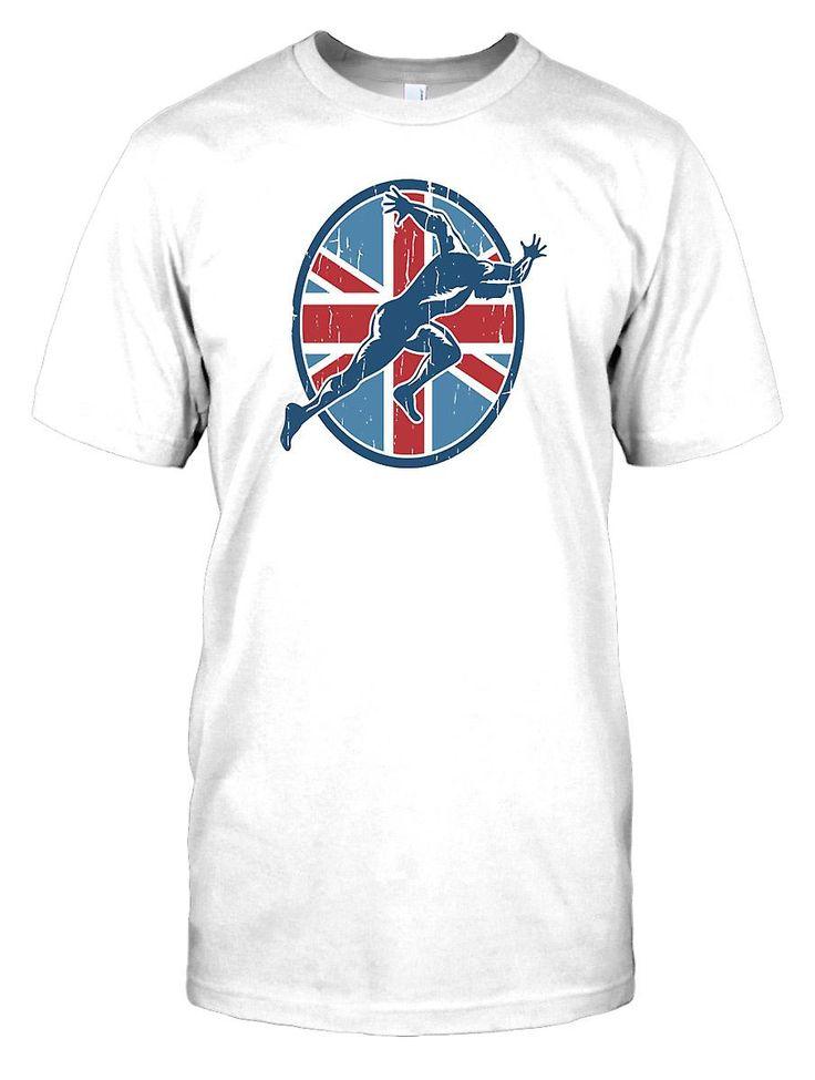 Kids t-shirt DTG Print - Team GB - Running - Sprint - Sport