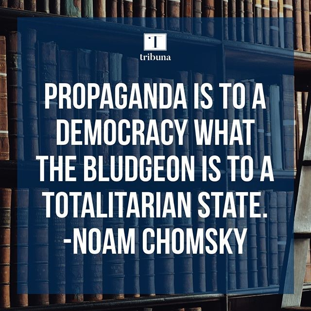 #TuesdayThoughts #TribunaThoughts #Chomsky #NoamChomsky #Tribuna