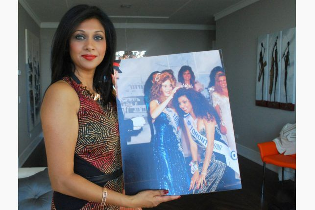 Karen Johnson was Miss Toronto 1990. Today she's a TV personality for Canada AM.