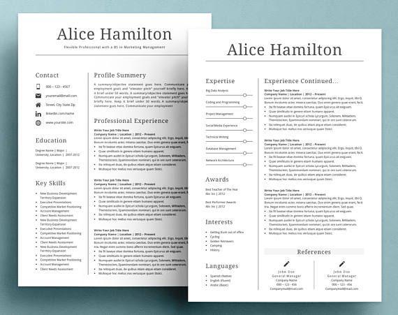 resume template cv template resume template word professional resume template creative resume template modern resume template