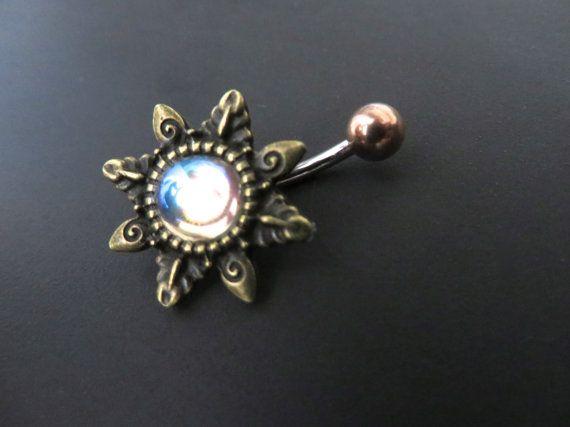 Beautiful belly button piercing