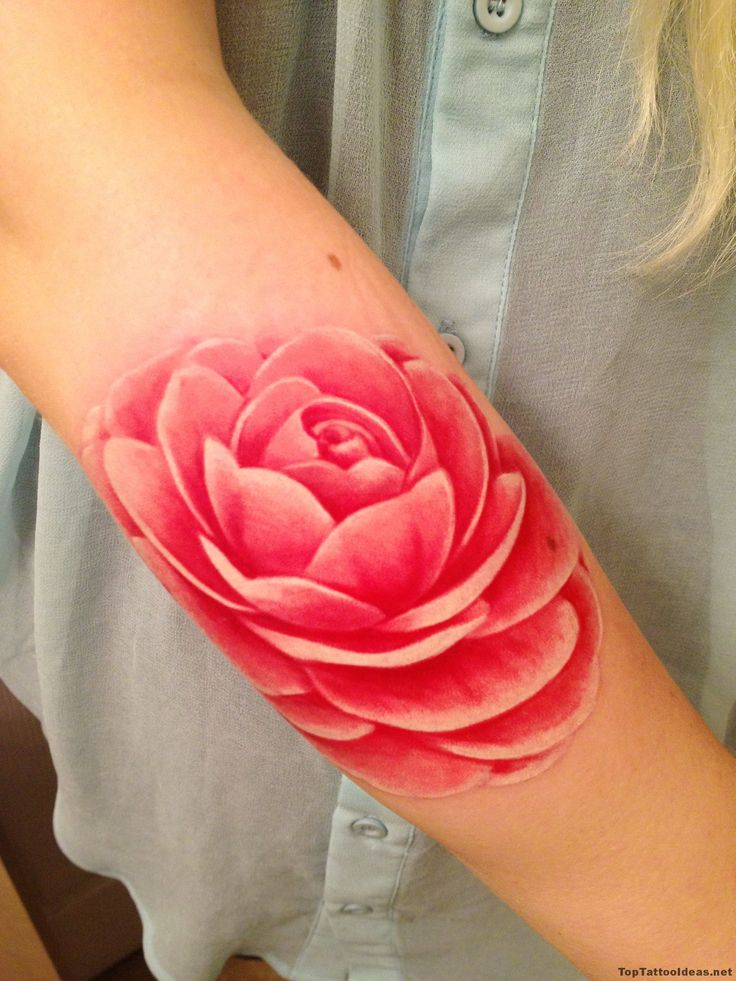 Pink Lotus Tattoo Idea