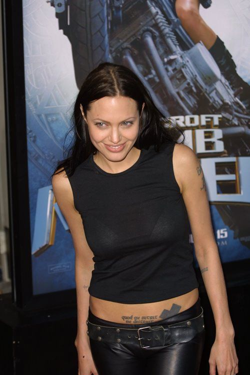 Step Back in Time: Angelina Jolie in 2001-2003   Skinny VS Curvy