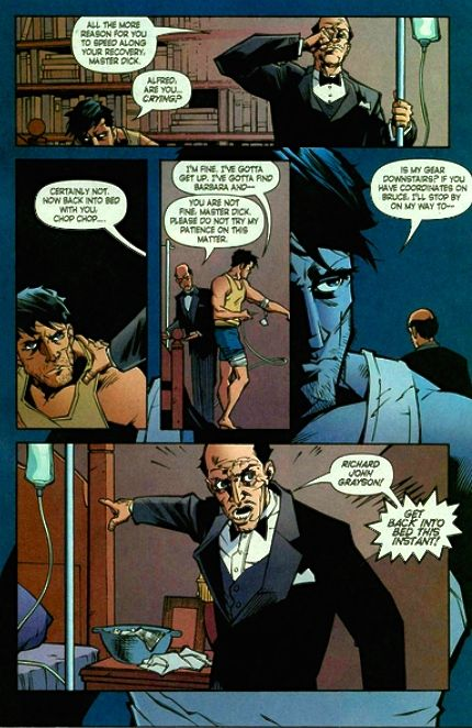 Don't mess with Alfred!