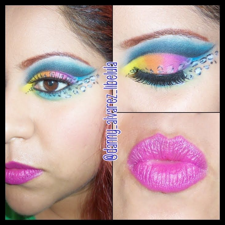 Maquillaje Exótico * Inspiración y Reto* Ave Exótica