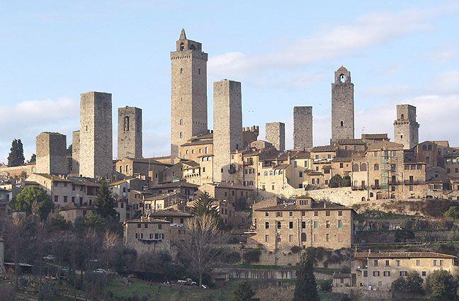 Conf. 14 Jan - San Gimignano, Toscania