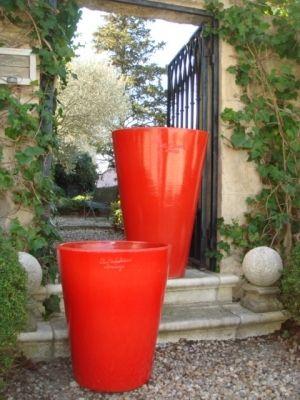 vase touge d 39 anduze le mazagran poterie anduze deco art de vivre pinterest decoration. Black Bedroom Furniture Sets. Home Design Ideas