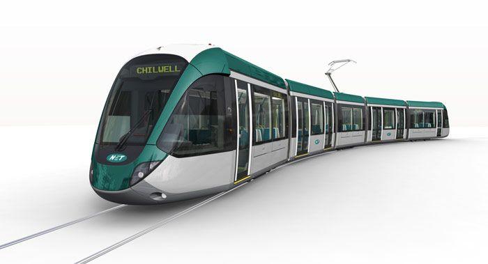 Presentado el diseño de los nuevos tranvías de Alstom para Nottingham - Revista VÍA LIBRE - Fundación de los Ferrocarriles Españoles #Railway
