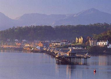 Bangor, Wales (that tea room on the end of the dock has THE BEST scones in the world). :)
