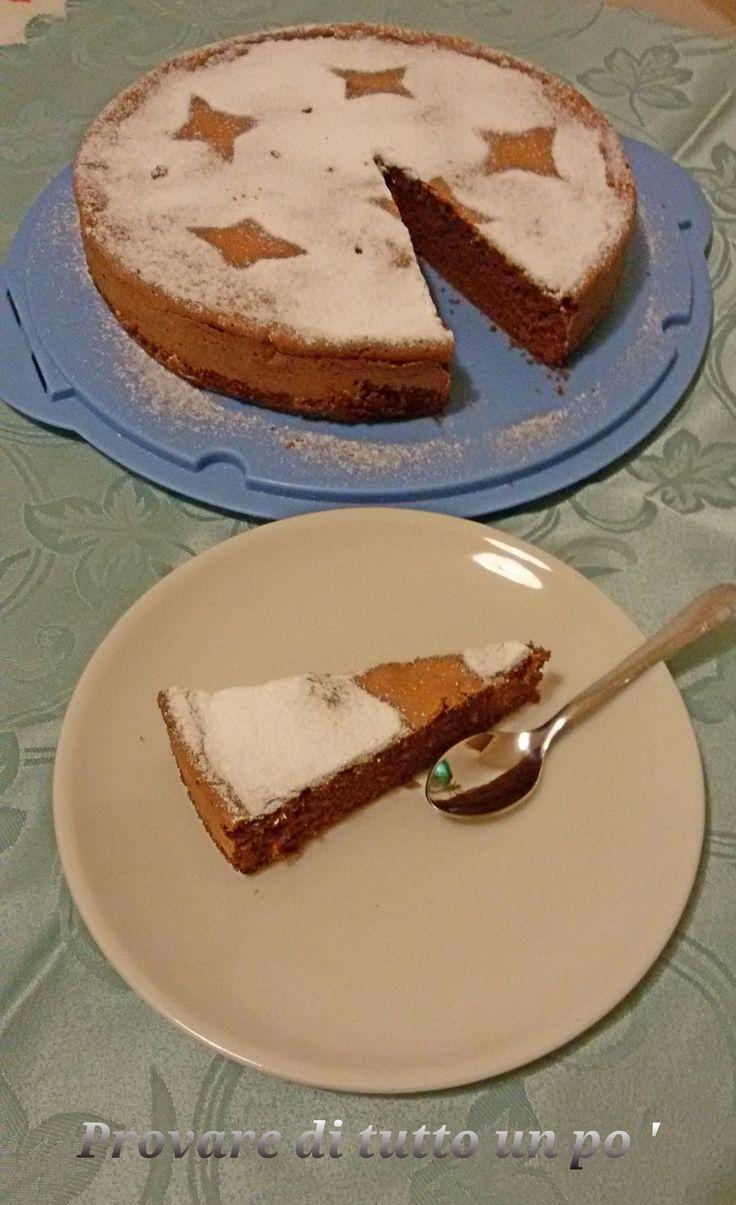 La Torta al cioccolato con soli albumi o la torta del riciclo è molto golosa e leggera. La torta risulta sofficissima, umida quanto basta.