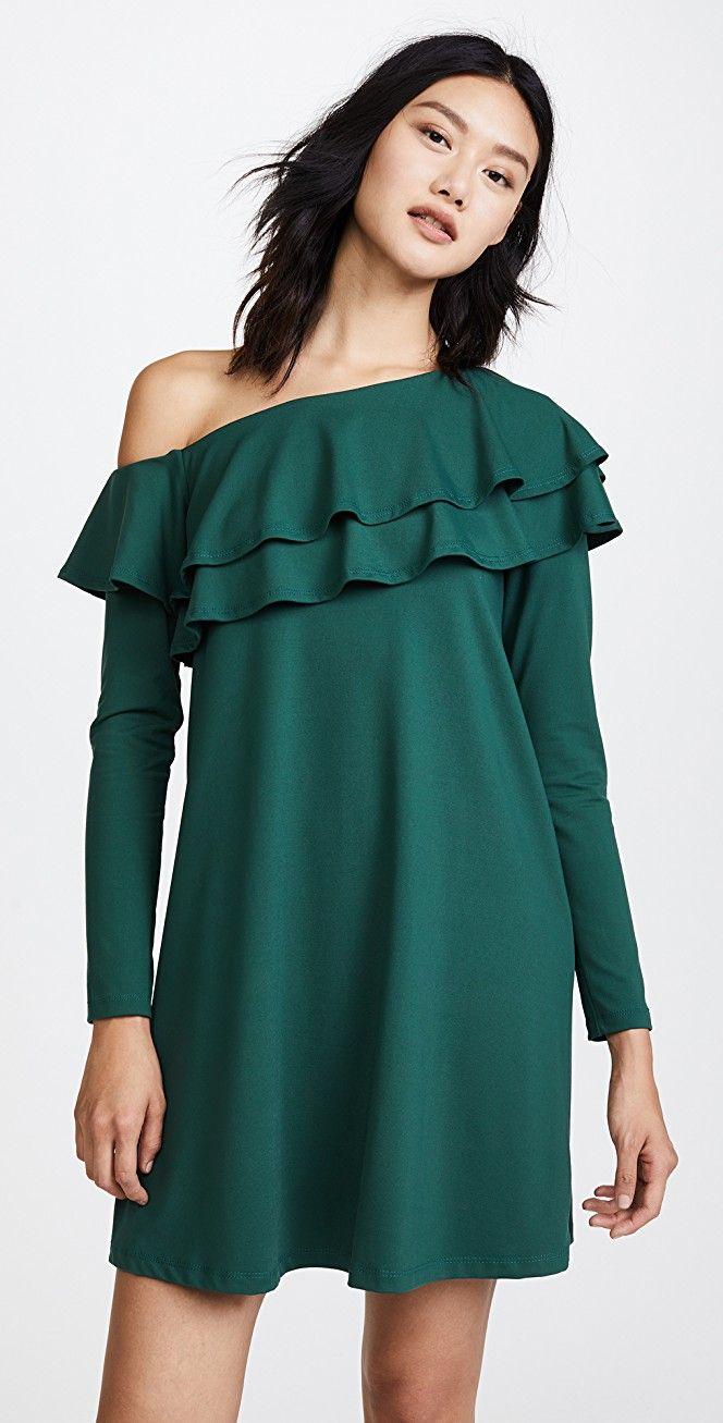 Susana Monaco Jada Ruffle Dress | SHOPBOP SAVE UP TO 25% Use Code: EOTS17