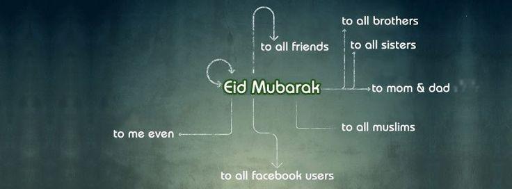 Eid ul Fitr Greetings   Happy Eid Mubarak Cover Photos for Facebook