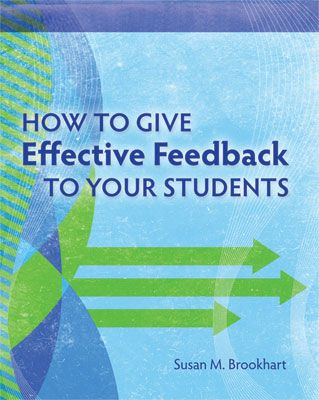 Susan Brookhart has create a teacher friendly guide that provides teachers with the know how to give the right feedback for all kinds of assignments, in every grade level and subject area.