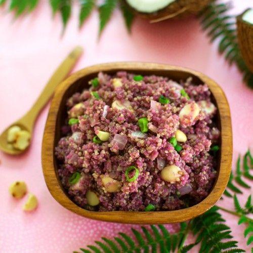 Macadamia Quinoa Pilaf HealthyAperture.com | food | Pinterest | Quinoa ...