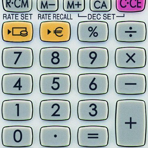 Sharp Elsi Mate EL-233ER zsebszámológép 8 számjegyes - Számológépek Ft Ár 1,099