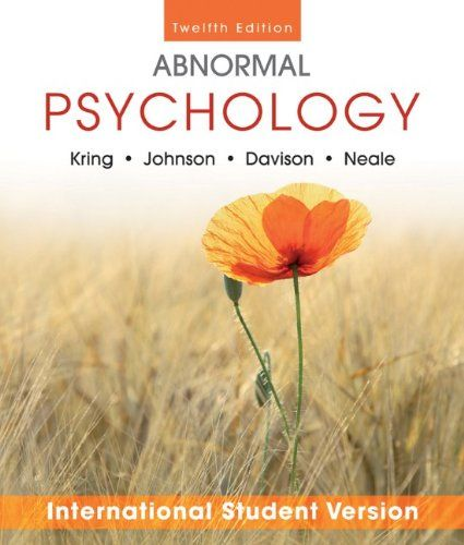 diagnostic exercise abnormal psychology english literature essay Journal of abnormal psychology is now using a software system to screen submitted content for similarity with other academic writing and english language editing.