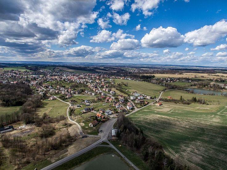 #brusperk #vesnice #village #dji #djiphantom #aerial #drone #clouds #spring #morava