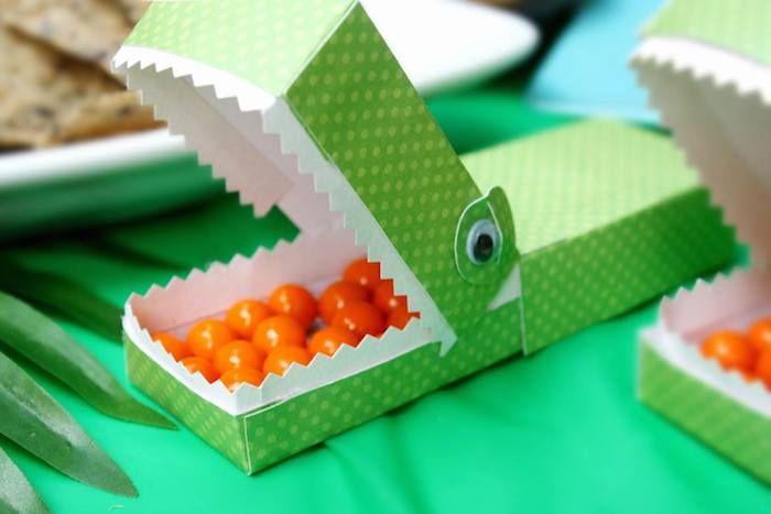 Reptile + Scientist themed birthday party via Kara's Party Ideas KarasPartyIdeas.com Cake, decor, invitation, desserts, printables, favors, and more! #reptileparty #scientistparty (12)