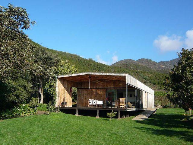 Mueblesdepalets.net: Casa hecha con tablas de palets recicladas