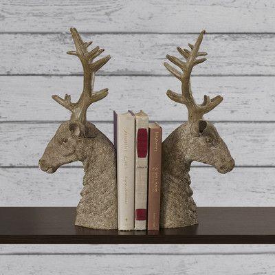 1000 images about antlers on pinterest horns tartan and reindeer - Deer antler bookends ...