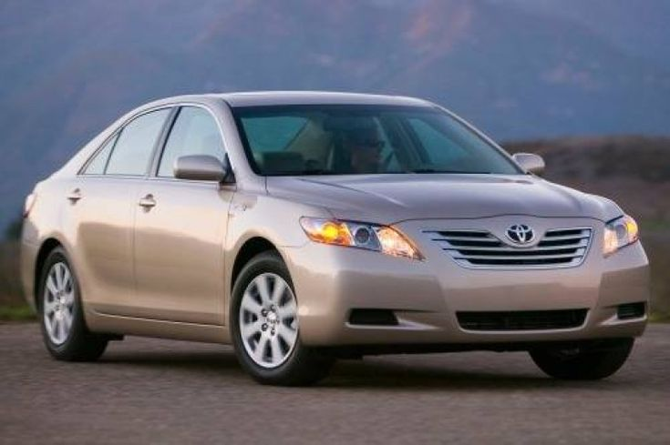Tire Size For Toyota Camry 2007