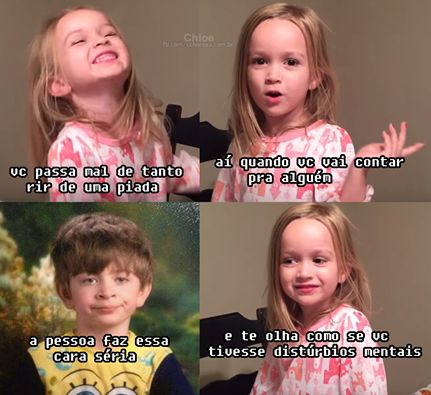 meme da menininha loira