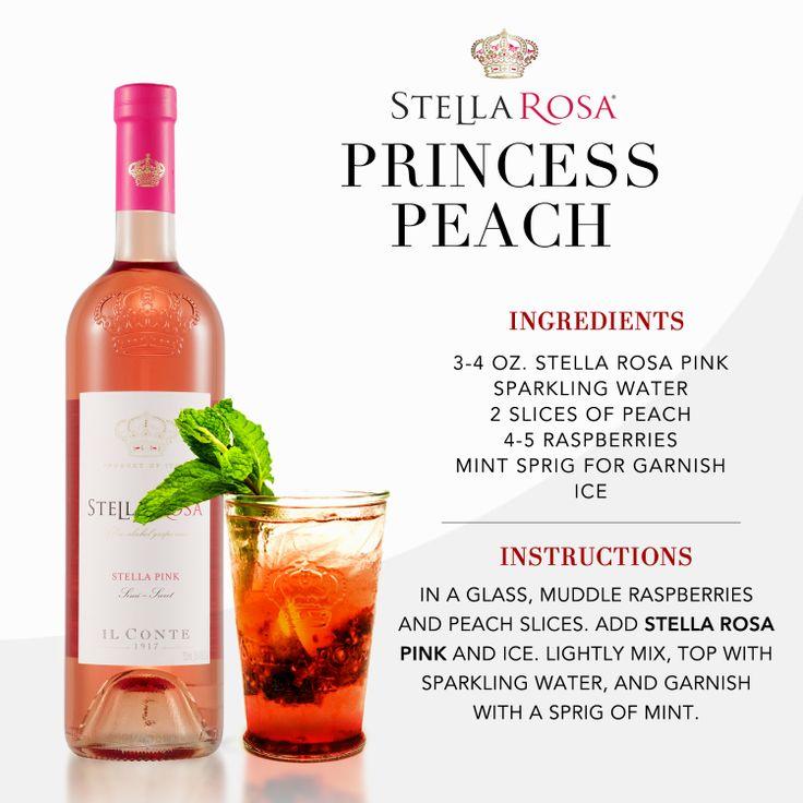 Stella Rosa original recipe: Stella Rosa Princess Peach, with Stella Rosa Pink. Video instructions: http://www.youtube.com/watch?v=ho48NFxI5KY