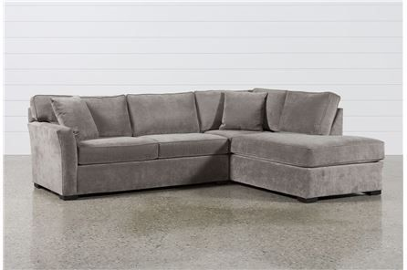 Aspen 2 Piece Sleeper Sectional W/Raf Chaise - Signature