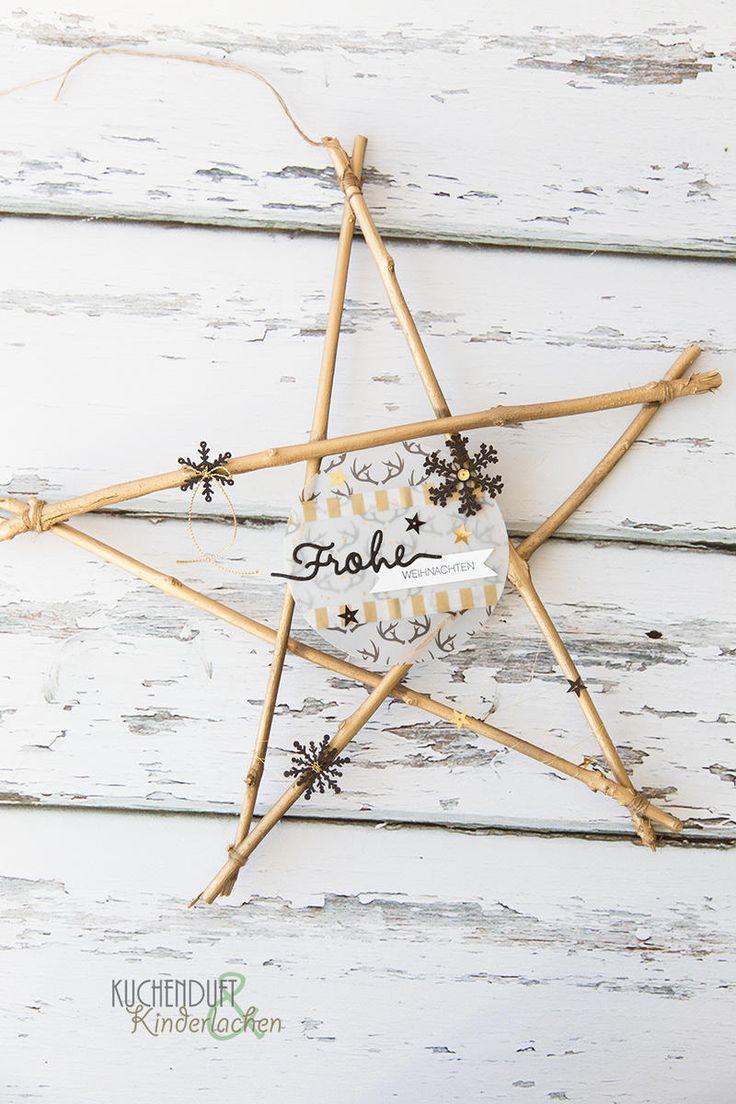 Am 12. Dezember, da öffne ich meine Tür {December Inkspiration mit Weihnachtsdeko in schwarz und gold} | Kuchenduft & Kinderlachen