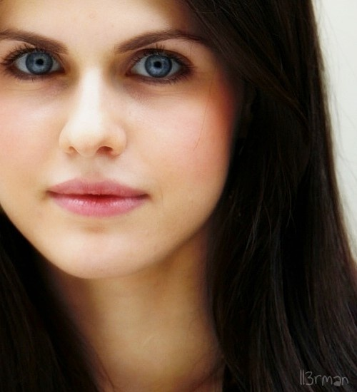 The Alexandra Daddario eyes to breast test (20 ... - theCHIVE