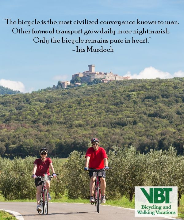 Explore The World By Bike With Vbt Travel Vacation