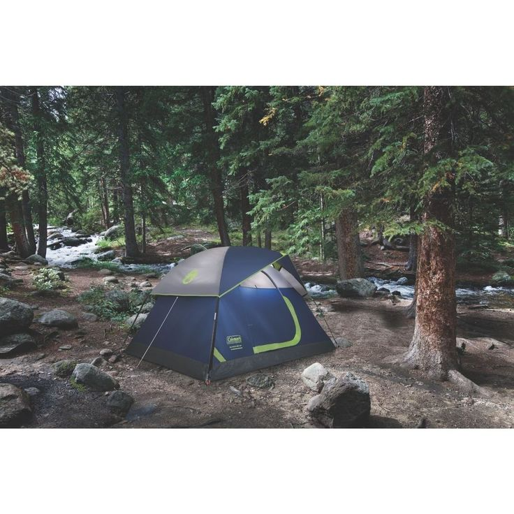 Set up camp in a compact, yet spacious tent with the 2 Person Family Extended Dome Tent . If it rains, the tent is 33% more water-resistant, and the weather Tec system with its patented welded floors and Inverted seams also helps you stay dry.#Family #ExtendedDomeTent #Dome