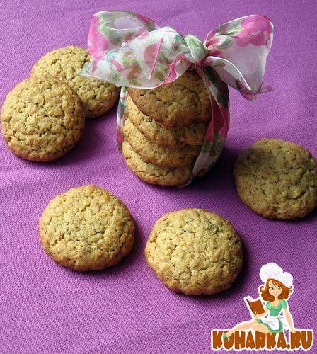 Печенье с розмарином, цедрой апельсина и грецкими орехами