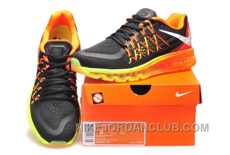 http://www.nikejordanclub.com/australia-2015-nike-air-max-mens-running-shoes-black-and-orange.html AUSTRALIA 2015 NIKE AIR MAX  MENS RUNNING SHOES BLACK AND ORANGE Only $97.00 , Free Shipping!