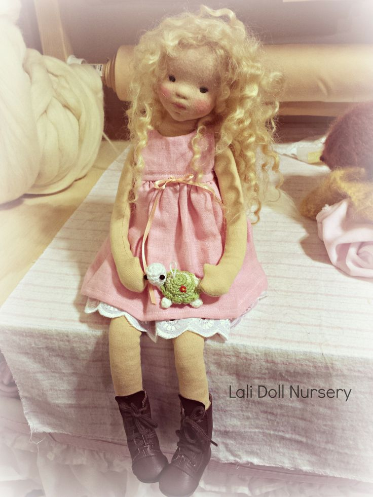 "Faye, a 16"" Posy Doll."