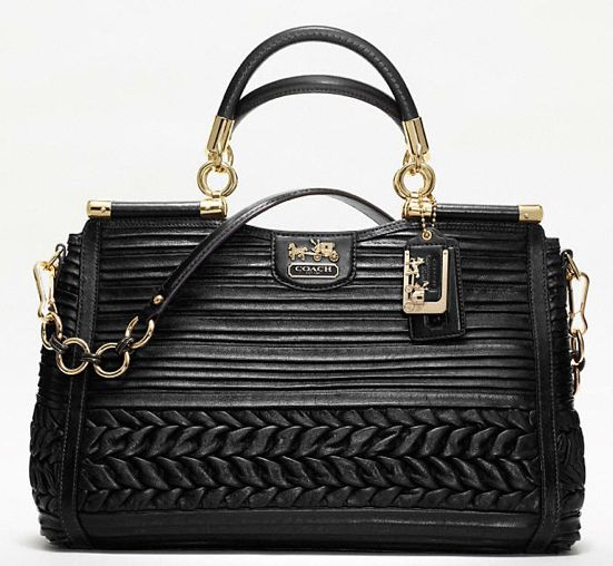 Currently, Coach's most expensive bag is this Madison Caroline Dowel ...