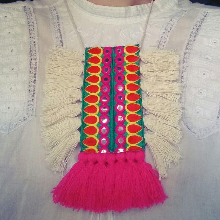 Collar etnico Spring-Summer Olga Cas 2016