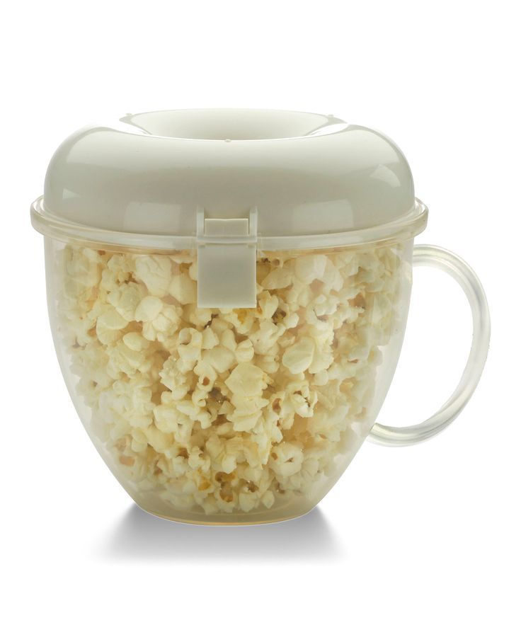 Big Boss Popcorn Wave Microwave Popcorn Maker | Cook delicious loose-kernel popcorn right out of the microwave with this ingenious gadget.