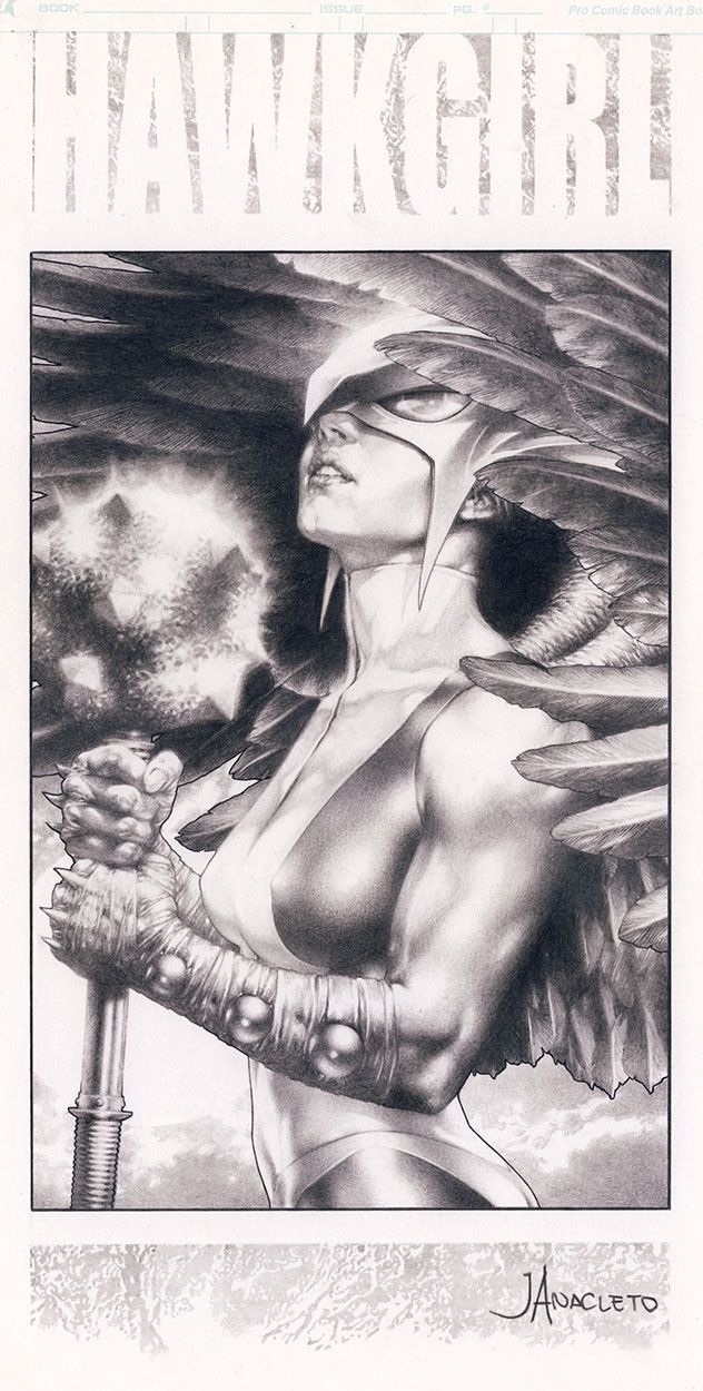 Hawkgirl by Jay Anacleto