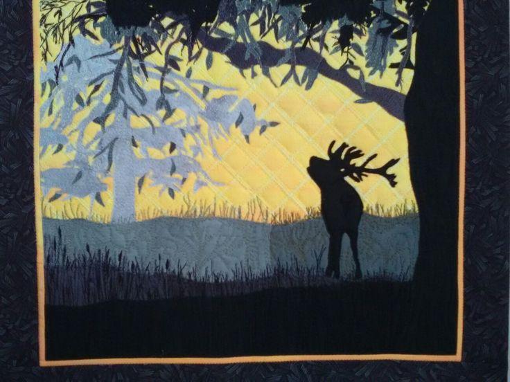 Őszi erdő 1.   Foto quilt