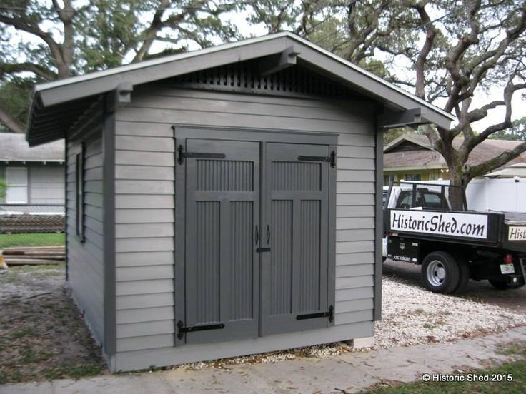 a shed for a high style craftsman in st - Garden Sheds Victoria Bc