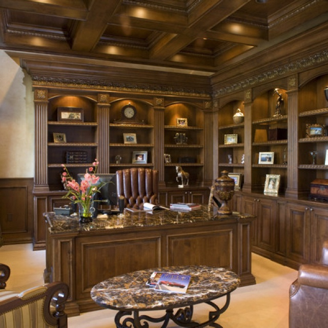 Traditional Home Office Design Ideas: 235 Best Images About Home Office On Pinterest