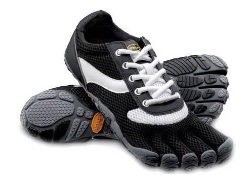 Vibram Five Fingers Speed Men's Shoes Black White Outlet [Vibram Fivefingers0100] - $75.99