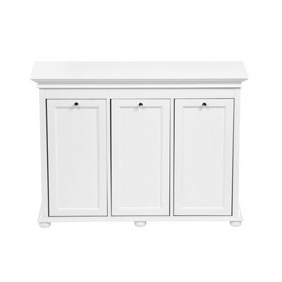 Home Decorators Collection Hampton Bay White Laundry Hamper 2601330410 at The Home Depot - Mobile