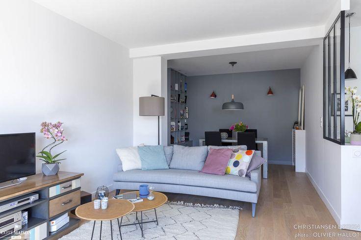 Appartement déco scandinave, CHRISTIANSEN DESIGN - Côté Maison