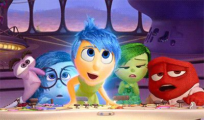 """In a scrapped scene, Joy swims down into the realm of """"unconsciousness."""" 