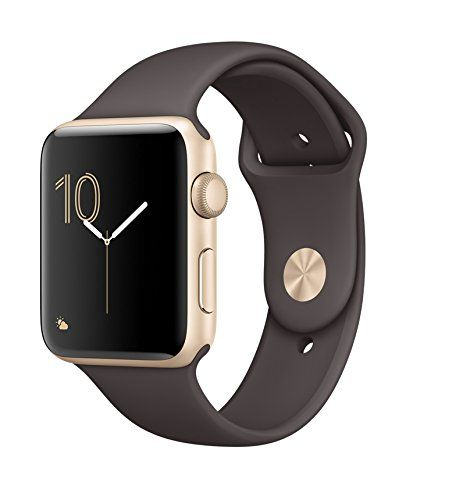 Apple watch series 2 42mm ALUMINUM Case SPORT (Gold Aluminum Case with Cocoa Sport Band)   Apple Watch Series 2 is a superior sports watch that measures your workouts with detailed Read  more http://themarketplacespot.com/apple-watch-series-2-42mm-aluminum-case-sport-gold-aluminum-case-with-cocoa-sport-band/