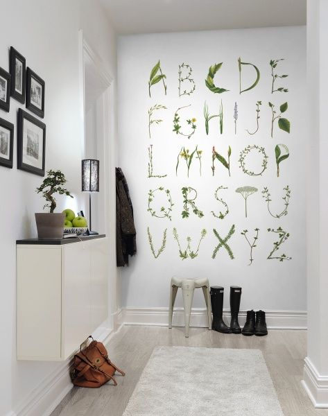 Hey, bekijk deze mural van Rebel Walls, ABC for the spelling bee! #rebelwalls #behang #mural