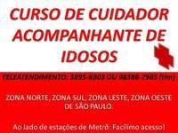 Curso De Cuidador De Idosos - Cursos e Capacitação - São Paulo