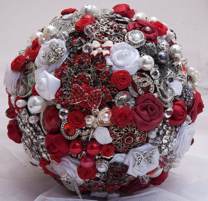 Striking Beauty Brooch Bouquets - South Africa Wedding Accessories, Wedding Jewellery